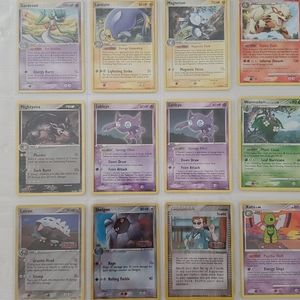 Lot of 53 Rare and Holo Pokémon Cards